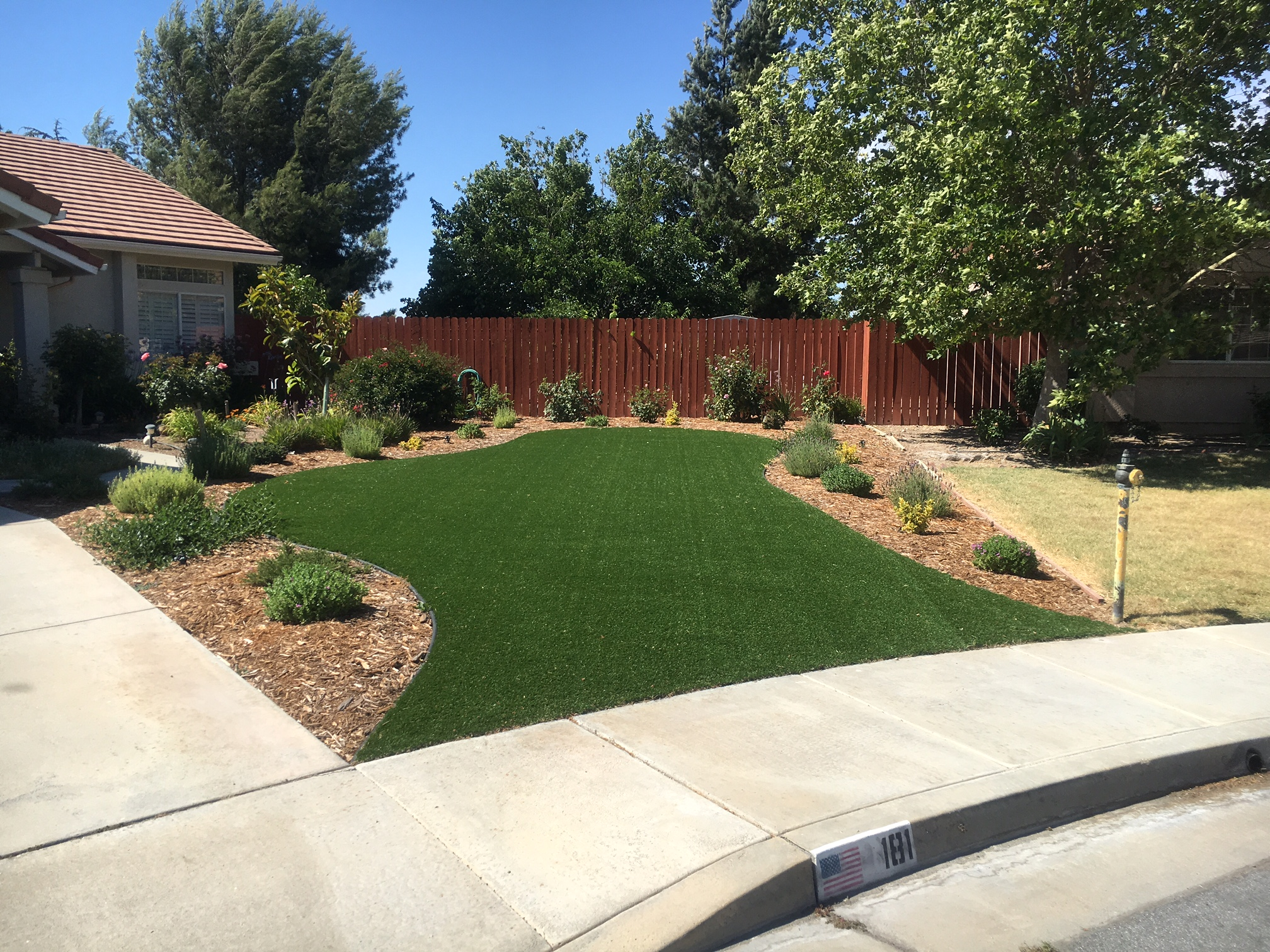 Synthetic Grounds For Your Home Commercial Or Residential Property In Paso Robles Backyardsteps Wright Landscape