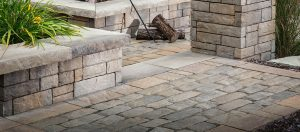 Recalling the narrow, cobbled streets of Europe, Old World Paver™ is crafted with a natural stone cleft finish for the look and feel of time-worn cut stone. Strong and durable, Old World is perfect for high- traffic areas and offers a wide range of both color and pattern potential.